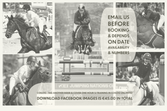 Tag Another Rider and Cover One Hour SJ Training In Coilog Unlimited Download Facebook Images is €45.00 in Total
