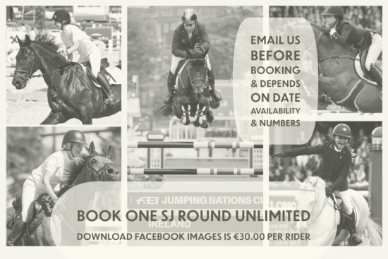 Book One SJ Round Unlimited Download Facebook Images is €30.00 per Rider